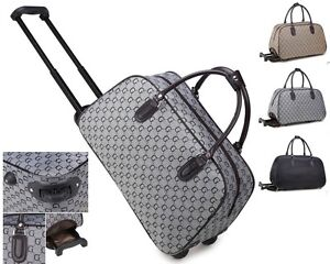 Ladies-G-Print-Weekend-Bag-Holdall-Trolley-Hand-Luggage-Holiday-Travel-Handbag