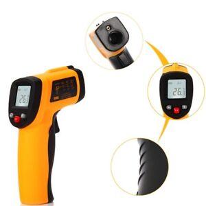 Digital Infrarot Thermometer Laser Temperaturmessgerat 50 Bis 600 C