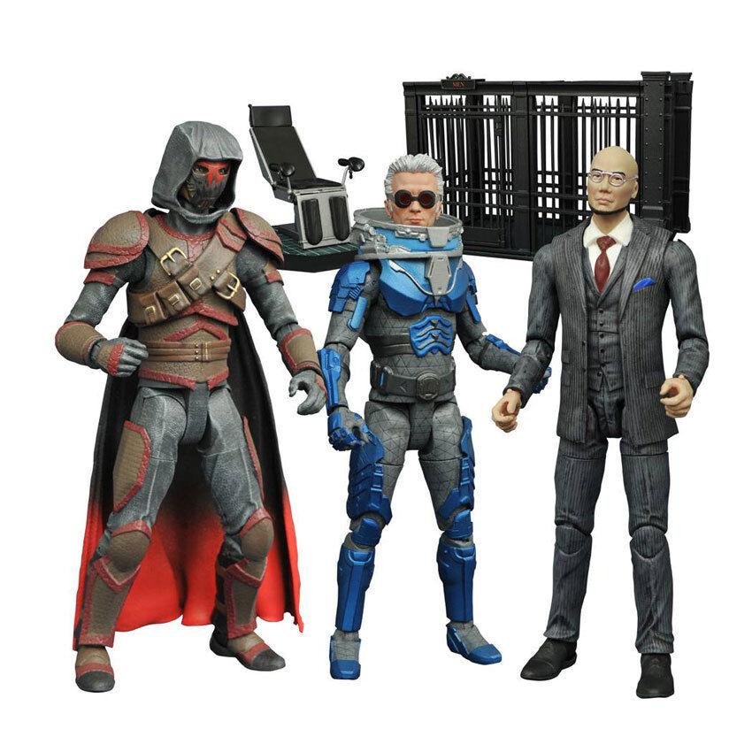 Gotham Select Villains Wirkung Figure Set of 3