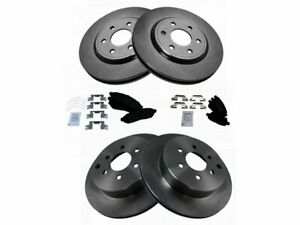 Front /& Rear Rotors for 2005 2006 2007-2012 Nissan Pathfinder V6 ONLY 4 All