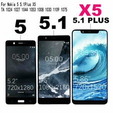 For Nokia 5 5.1Plus X5 TA 1024 1027 New LCD Display Touch Screen Glass Assembly