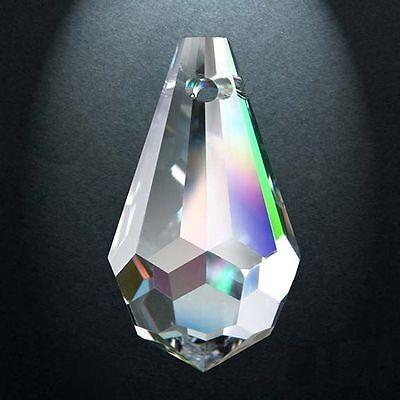 Audaz 5 Puntale 405 Mm.20x11 Cristallo Asfour Pendente Per Lampadario 30% Pb Ricambio