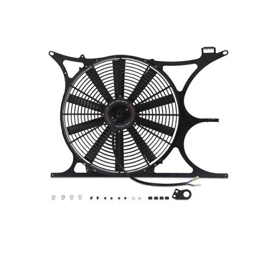 Black for BMW E36 M3 325I 328I Mishimoto Performance Fan Shroud Kit w// NPT