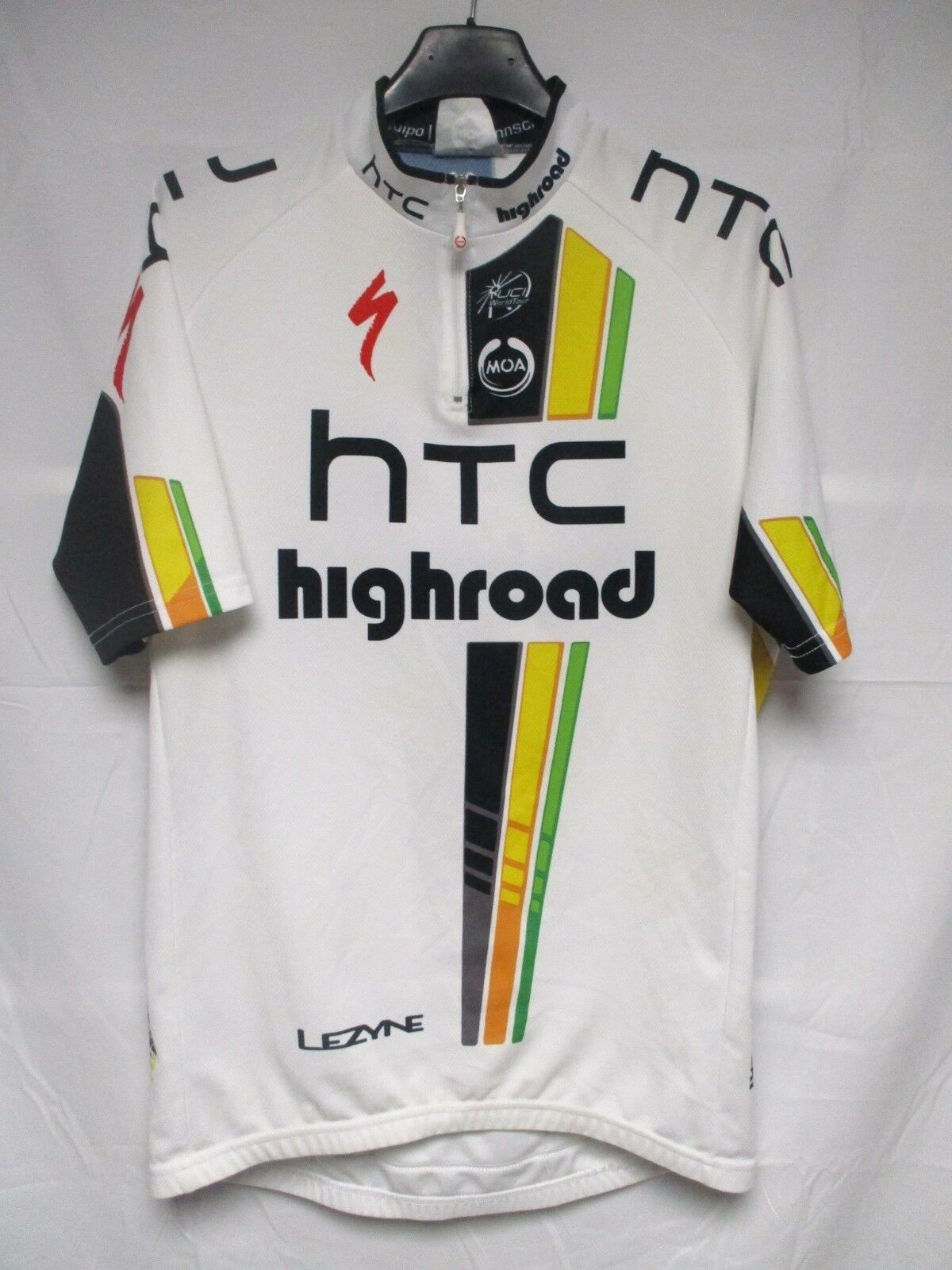 Maillot CAVENDISH HTC HIGHROAD shirt Tour France 2011 MARTIN CAVENDISH Maillot PINOTTI trikot 5 XL d46188