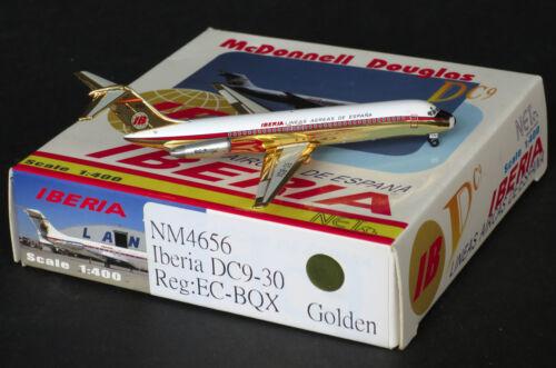"""Iberia DC9-30 Reg:EC-BQX   /""""Golden/""""  1:400  Net Models    NM4656"""