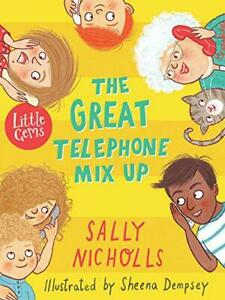 The-Great-Telephone-Mix-Up-Little-Gems-by-Nicholls-Sally-NEW-Book-FREE-amp-Fa