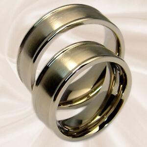 Titanringe Hochzeitsringe Partnerringe Eheringe Freundschaftsringe mit Gravur