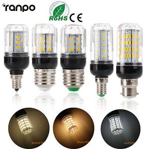 LED Maïs Ampoule E27 E14 B22 5730 SMD 9W 12W 15W 20W 25W 30W 35W Lampe Blanche