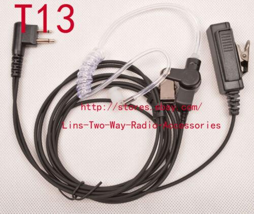 10x Mic Earpiece for Motorola CP040 CP200 GP300 GP2000 GP3188 Portable Radio