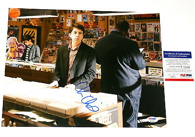 Psa/dna! mclovin Supply Christopher Mintz-plasse Autographed 11x14 Color Photo