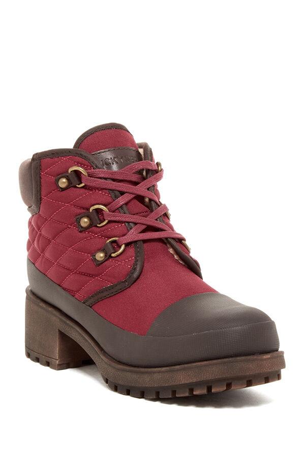 Nuevo Lucky Brand akonn Mujeres Piel del estirón estirón estirón botas talla 7.5  te hará satisfecho