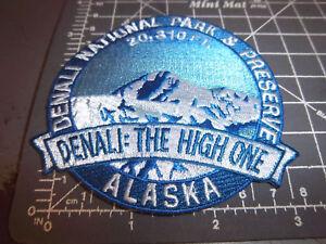 Denali-National-Park-Alaska-Beautiful-embroidered-patch-Denali-the-High-one
