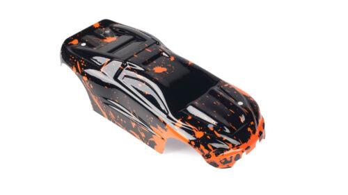 2pk Combo Custom Bodies for Traxxas 1//16 eRevo Mini Body 7012 OrangeMud/&GreenMud