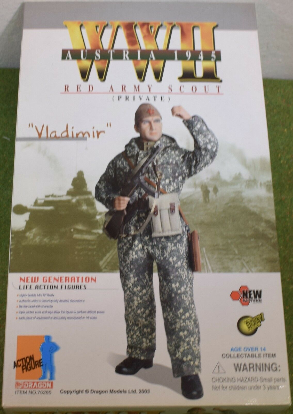 DRAGON 1 6 SCALE WORLD WAR II RUSSIAN VLADIMIR - RED ARMY SCOUT - PRIVATE