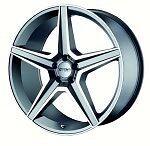 """Alufælge, 18"""", Mercedes AMG"""