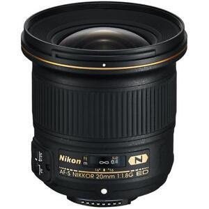 Nikon-AFS-20mm-F1-8G-ED-Wide-Angle-Lens-Brand-New