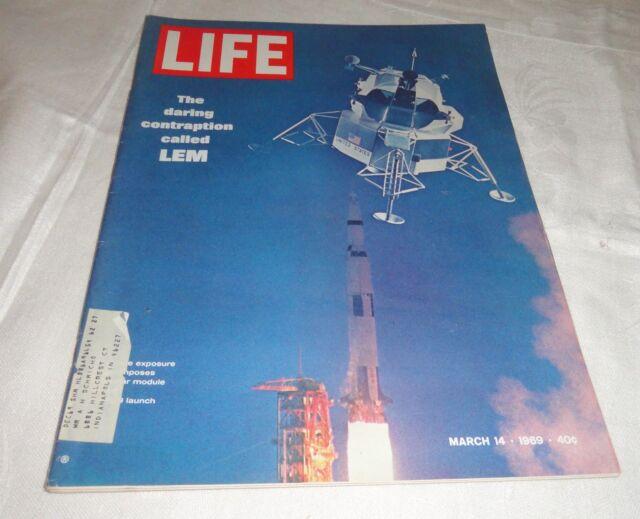 Vintage Life Magazine March 14 1969