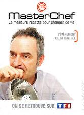 PUBLICITE ADVERTISING   2010   TF1   MASTER CHEF  l'événement de la rentrée