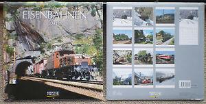 Eisenbahnen-2016-Wandkalender-mit-Ferienterminen-Eisenbahn-ovp-Korsch-Verl