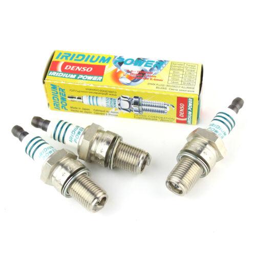 3x Skoda Fabia 6Y5 1.2 Genuine Denso Iridium Power Spark Plugs