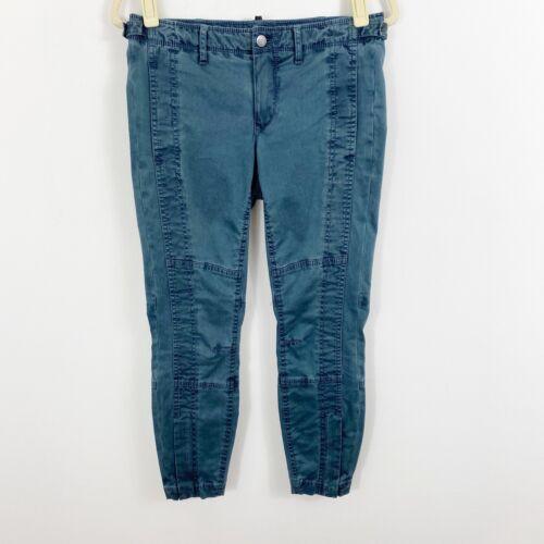 Jordan Louis Women 26 Zip Skyler Pant in Blue Casu