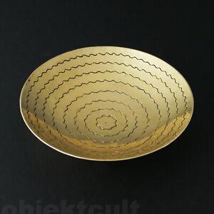 Bauhaus-HP-Hans-Przyrembel-1930er-kleine-Messing-Schale-brass-bowl-30s-art-deco