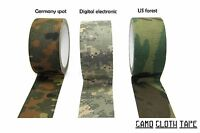 Camo Cloth Tape 50mm10mts There Colors Available:germany Spot