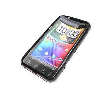 HTC EVO 3D G17  BLACK SOFT PLASTIC SMARTPHONE CASE SUPER FAST SHIPPING