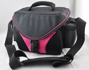 pink-case-CAMERA-Camcorder-BAG-for-Pentax-Nikon-Canon-Sony-VCR-JVC