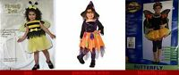 Girl Butterfly 5pc Halloween Costume Rubies Free Shiping W/ Buy It Now Price