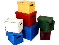 schuhbox box schuhkarton pappbox aufbewahrungsbox pappe faltbar schwarz kiste ebay. Black Bedroom Furniture Sets. Home Design Ideas