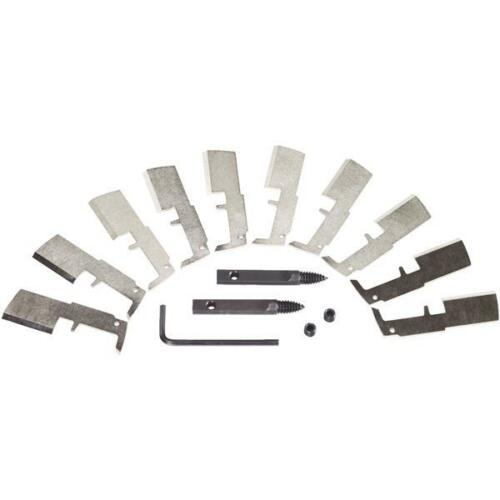 """Milwaukee SwitchBlade 1-3//8/"""" 10 Pack Best Heavy-Duty Replacement Blade Kit"""
