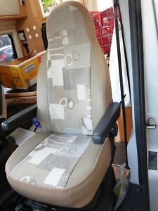 FRONT SEAT COVERS MARTHA MH-216 TO FIT A FIAT DUCATO 2009 MOTORHOME