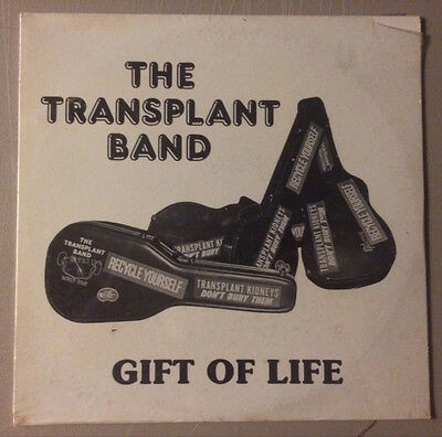 The Transplant Band Gift Of Life SEALED LP rare private label country rock vinyl