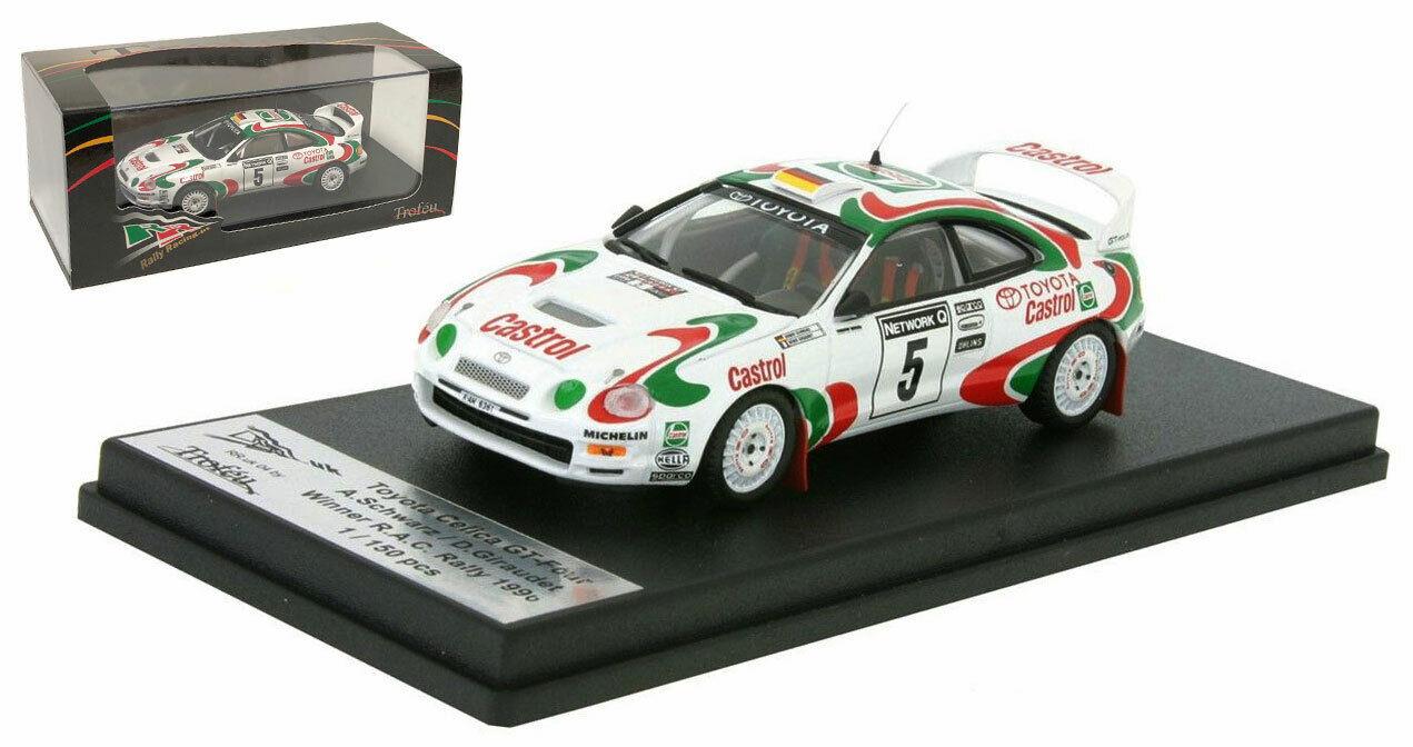 TROFEU rruk 04 TOYOTA CELICA GT FOUR Winner RAC 1996-Armin noir échelle 1 43