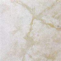 White Marble Vinyl Tile 40 Pc Adhesive Kitchen Flooring - Actual 12'' X 12''
