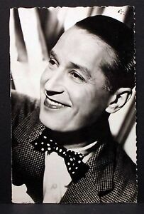 Maurice-Chevalier-Movie-Card-Photo-Film-Autograph-Card-Ak-Lot-I-5846