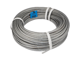 6Stainless Steel Wire Rope Cable Balustrade A4 Steel flexible DIY ...