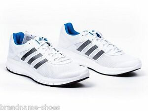 Image is loading MENS-ADIDAS-DURAMO-6-RUNNING-TRAINING-ATHLETIC-WHITE-