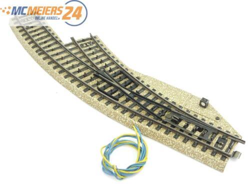 Bogenweiche R rechts Note 3 *geprüft* E57 Märklin H0 5142 M-Gleis elektr