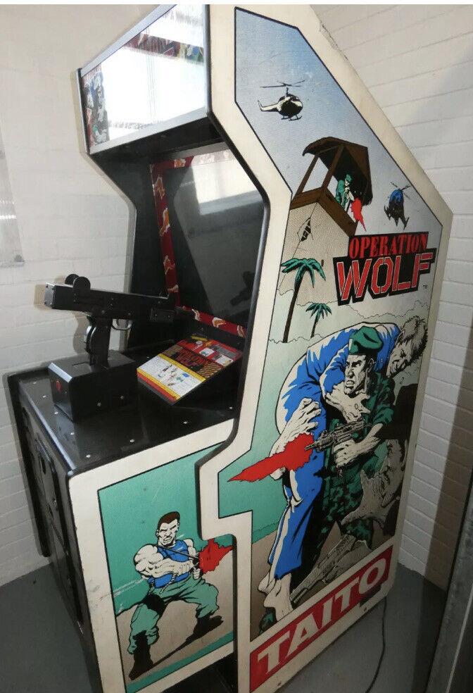 Retro Arcade Machine, Operation Wolf, Original , Sounds But Screen Won't Turn On