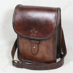 BUFFALO LEATHER MAP CASE - Bag Pouch Holder Brown Shoulder Strap ... 059eeacd46d
