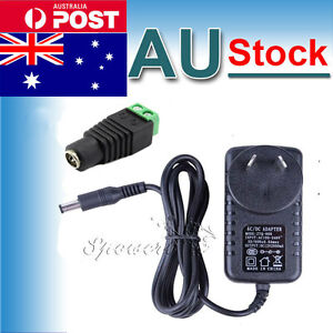 AU-Plug-12V-2A-24W-AC-DC-Adapter-Charger-Power-Supply-For-5050-3528-Strip-Lights