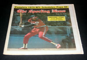 THE-SPORTING-NEWS-COMPLETE-NEWSPAPER-MAY-3-1975-FRANK-ROBINSON