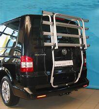 Uebler Fahrrad Heckträger Primavelo VW T5 mit Heckklappe Aluminium für 4 Räder