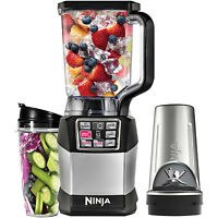 Ninja Auto-iq Nutri Ninja 1200w Smooth Boost 72 Ounce Blender With Cups | Bl490 on Sale