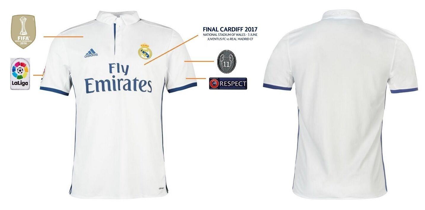 Trikot Adidas Real Madrid Champions League Final Cardiff 2017  | Verschiedene Stile und Stile