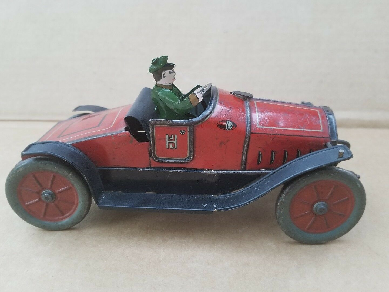 Hess 1020 hessmobile Cuerda Vintage Década de 1920 Coche de juguete
