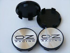 4x-54mm-51mm-Plastic-OZ-Racing-logo-badge-Car-Wheel-Center-Hub-Caps-Covers-Rims