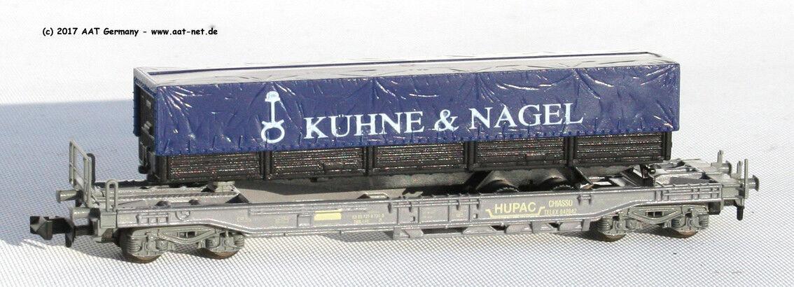 Roco N 5025 - Einheitstaschenwagen SBB, Auflieger  Kühne , Ep. IV, NEU, OVP  | Realistisch